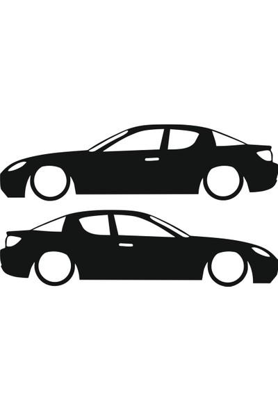 Hediyelikevi Mazda Rx8 Basık Arac Sticker