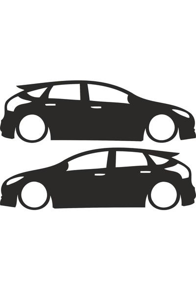 Hediyelikevi Ford Focus 2 Basık Arac Sticker