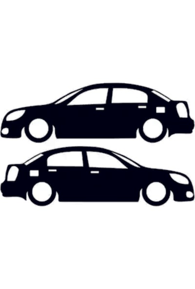 Hediyelikevi Hyundai Accent Era Basık Arac Sticker