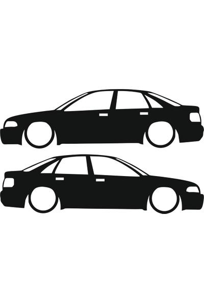 Hediyelikevi Audi S4 Basık Arac Sticker