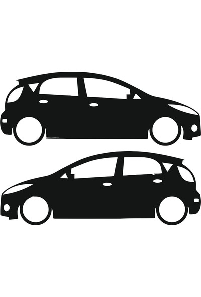Hediyelikevi Ford Fiesta 2 Basık Arac Sticker