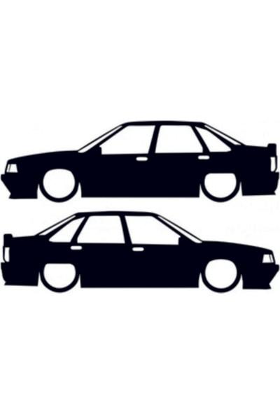 Hediyelikevi Renault R21 Basık Arac Sticker
