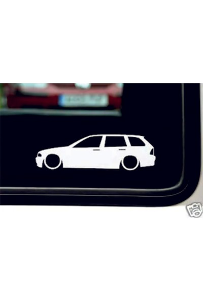 Hediyelikevi Bmw E46 Basık Arac Sticker