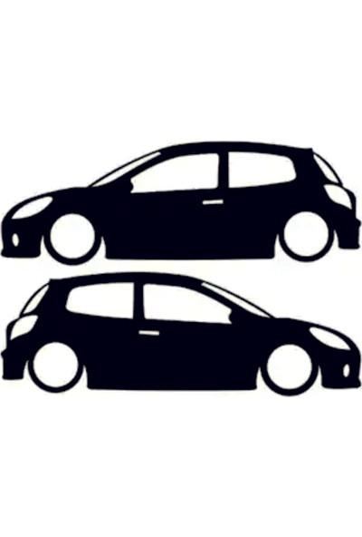 Hediyelikevi Renault Clio 3 Basık Arac Sticker