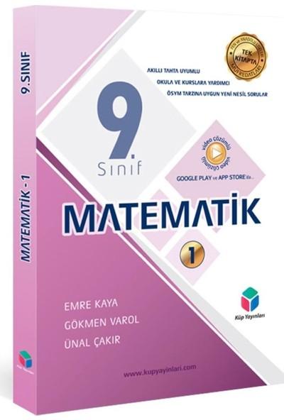 KÜP YAYINLARI - 9. SINIF MATEMATİK - 1