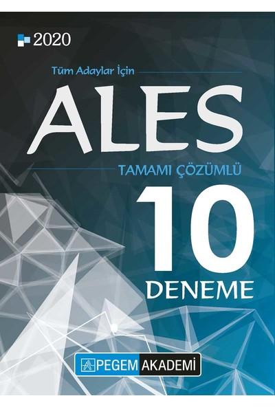 Pegem Akademi 2020 ALES Tamamı Çözümlü 10 Deneme