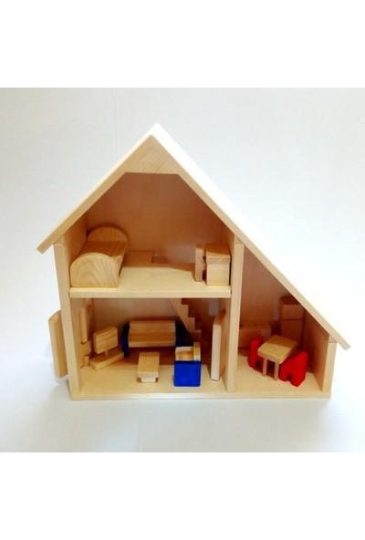 İcat Çıkartıyoruz Iki Katlı Ahşap Oyuncak Ev