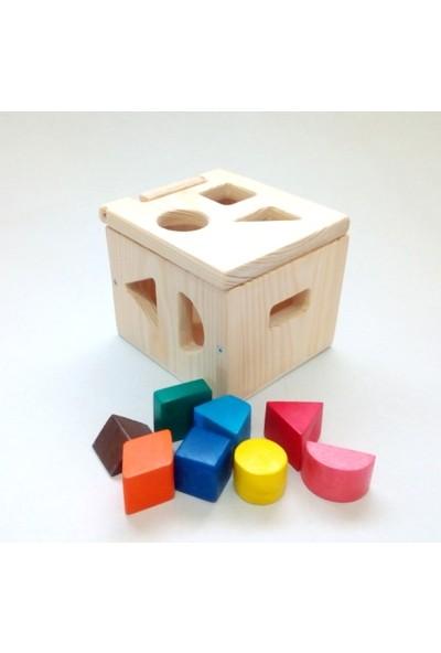 İcat Çıkartıyoruz Bultak Kutu Ahşap Eğitici Oyuncak - Renkli