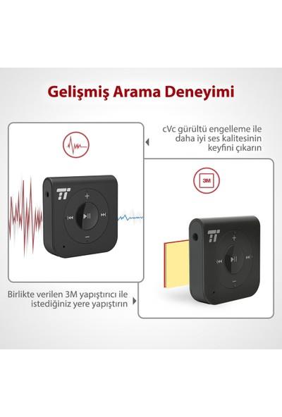 TaoTronics TT-BR06 Bluetooth Alıcı 3.5 mm Stereo Çıkış ve Eller Serbest Arama 15 Saat Şarj