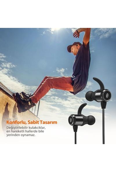 TaoTronics TT-BH035 Mıknatıslı Bluetooth Ter Geçirmez Spor Kulaklık 6 Saat Müzik + Taşıma Kılıfı, 53-01000-048