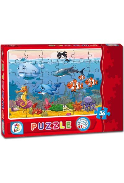 Laço Denizaltı 36 Parça Çocuk Puzzle