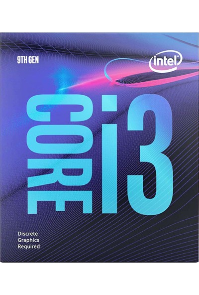 Intel Core i3 9100F 3.6Ghz LGA1151 6MB Cache Işlemci