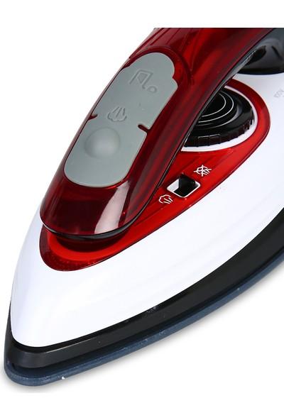 Fakir Viaggio Seyahat 1200W Ütüsü Kırmızı