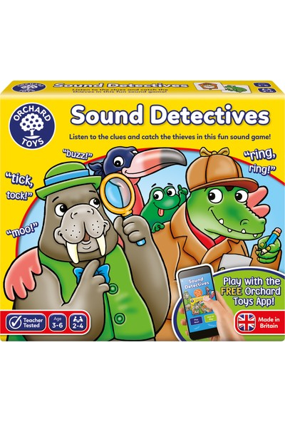 Orchard 78 Ses Dedektifleri Oyunu 3 - 6 Yaş