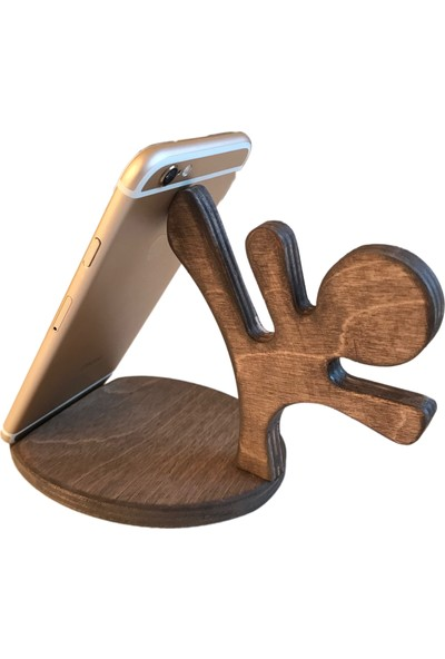 Mertsit Masaüstü Ahşap Telefon Standı Telefon Tutucu Telefon Kabı