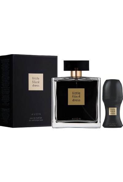 Avon Little Black Dress Bayan Parfüm Edp 50 Ml+ Roll On 2'li Set