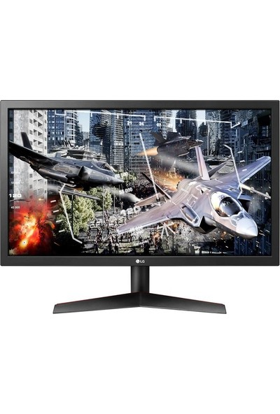 "LG UltraGear 24GL600F 23.6"" 144Hz 1ms (HDMI+Display) FreeSync Monitör"