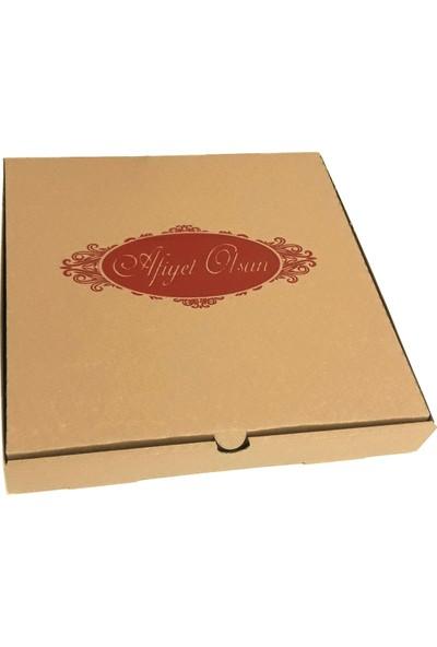 Yaşatan 42 x 42 Pizza Kutusu ( 50'li ) - 031