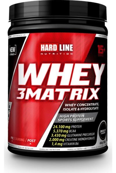 Hardline Nutrition Whey 3Matrıx Çikolatalı 454 Gr