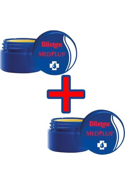 Blistex 2 Adet Kuruyan Ve Çatlayan Dudaklara Yoğun Bakım (kavanoz) Medplus Jar 7 ml