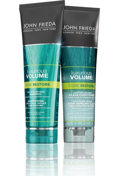 John Frieda Protein İçeren Güçlendirime&Hacim Şampuan ve Saç Kremi