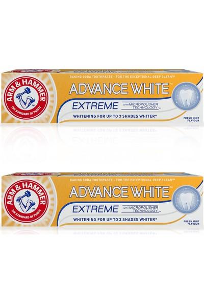 Arm Hammer 2 x 3 Tona Kadar Beyazlatıcı Diş Macunu - Advance White 75 ml