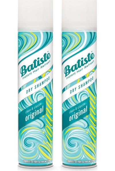 Batiste 2 x Kuru Şampuan - Dry Shampoo 200 ml