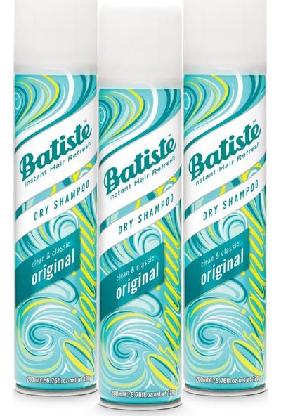Batiste3 x Kuru Şampuan - Dry Shampoo 200 ml