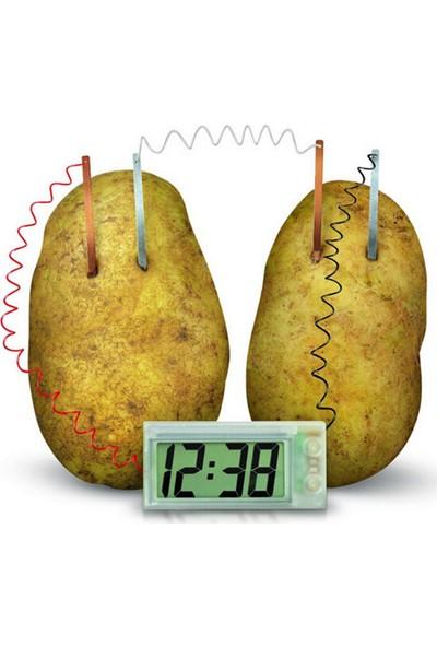 Ece Patates Saati Pil Yapma Deney Seti Saatli