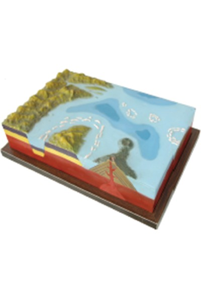 Ece Adaların Oluşumu ve Yapısı Modeli – 50CM x 35CM x 12CM
