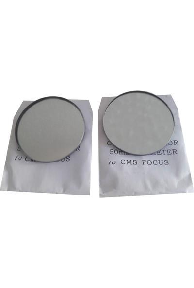 Ece Içbükey ve Dışbükey (Çukur ve Tümsek) Ayna Seti 5CM Çapında Tıraşlı Özel İmalat