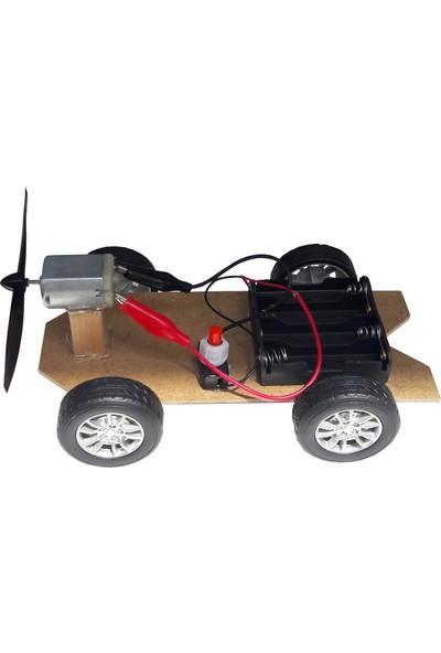 Ece Rüzgar Enerjisiyle Hareket Eden Araba Deney Seti (Yenilenebilir Enerji) – Demonte