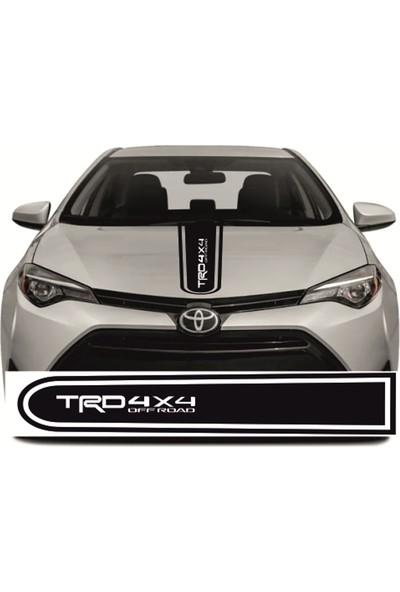 Hediyelikevi Toyota TRD4X4 Araba Ön Şerit