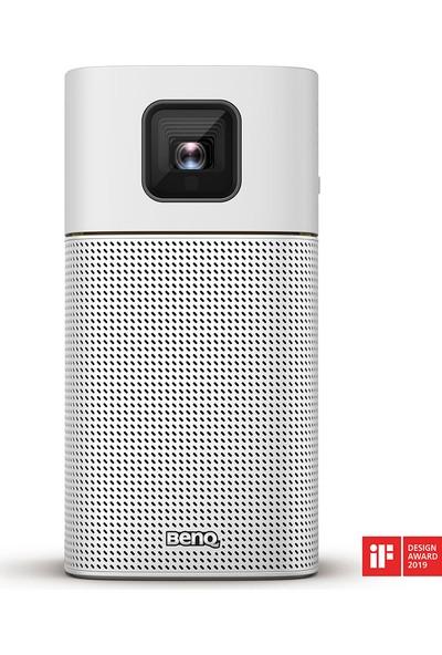 BenQ GV1 200 ANSI lümen 854x480 WVGA Wi-Fi ve Bluetooth Hoparlörlü Mini LED Projeksiyon Cihazı