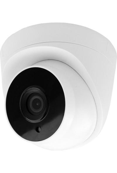 Elcam 5 Dome Kameralı Gece Görüşlü Güvenlik Kamera Seti, Iç Ortam 2mp Ahd