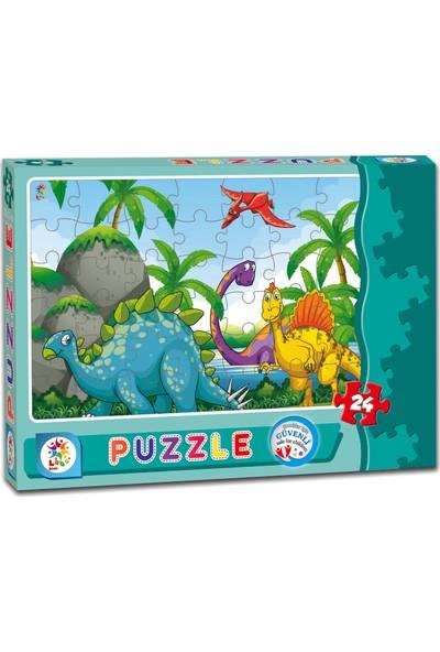 Laço Dinazor 24 Parça Çocuk Puzzle