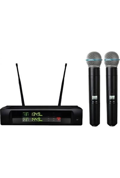 Bots İkili El Telsiz Mikrofon Bt - 222