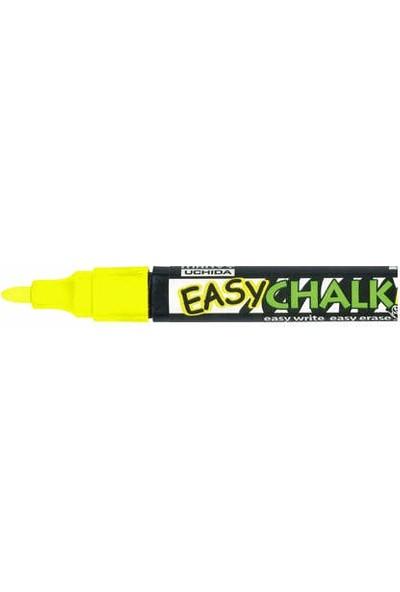 Marvy Easy Chalk Marker Sıvı Tebeşir Kalemi Fosforlu Sarı