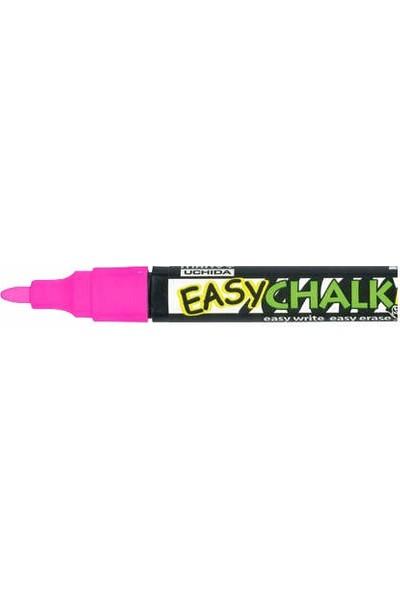 Marvy Easy Chalk Marker Sıvı Tebeşir Kalemi Fosforlu Pembe