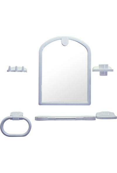 Şenyayla Cindy Büyük Kubbeli Ayna Seti
