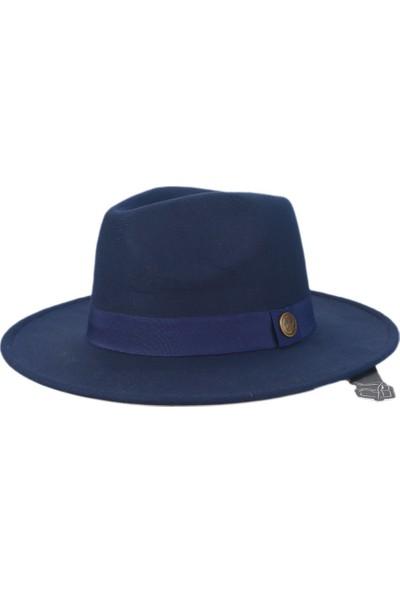 Cosmo Outlet Panama Fedora Klasik Unisex Fötr Şapka
