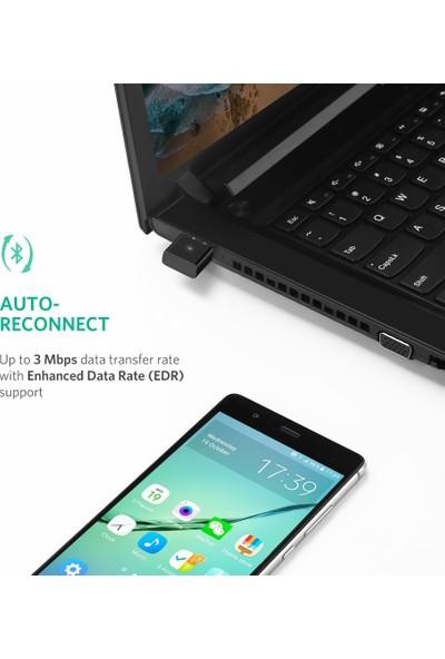 Schulzz Ugreen Bluetooth Adaptör 4.0 Csr Mini Dongle USB Alıcı Verici