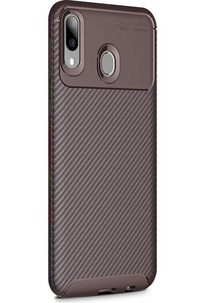 Microsonic Samsung Galaxy A20e Kılıf Legion Series Kahverengi