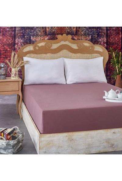 Komfort Home Çift Kişilik Penye Lastikli Çarşaf 140-160 x 200 cm