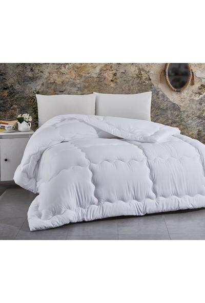 Komfort Tek Kişilik Yazlık MicroSaten Lüx Yorgan + Yastık