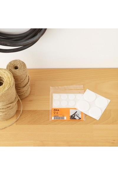 Ikea Fıxa Zemin Koruyucu Yapışkan Keçe - 20 Adet - 2 cm ve 4 cm Çapta