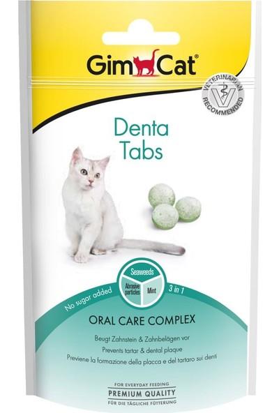 Gimcat Denta Tabs Ağız Diş Sağlığı Kedi Ödülü 40 Gr