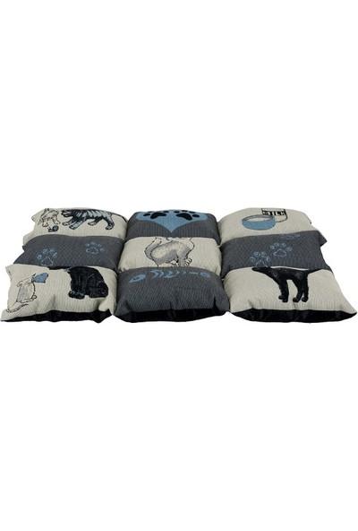 Trixie Kedi Yatağı, 55X45Cm, Gri/Açık Mavi