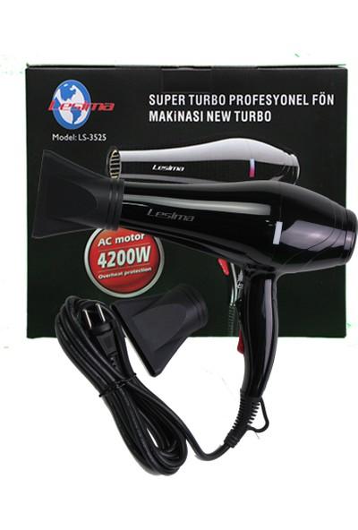 Lesima Süper Turbo Profesiyonel Saç Kurutma ve Fön Makinesi 4200 Watt Çift Başlık