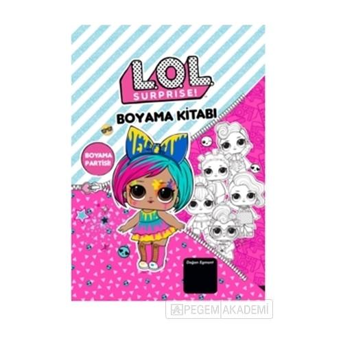 Lol Bebek Surprise Boyama Partisi Boyama Kitabi Fiyati